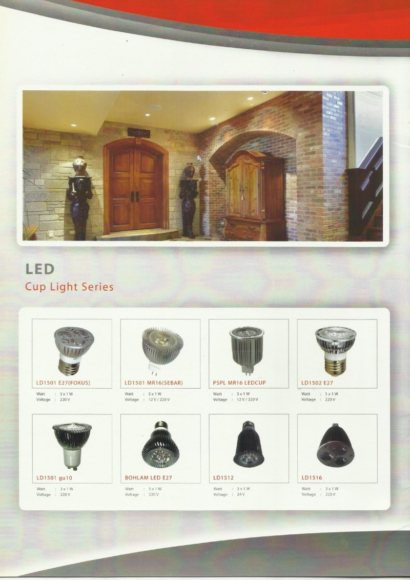 GENLITE LED-Cup Light Series