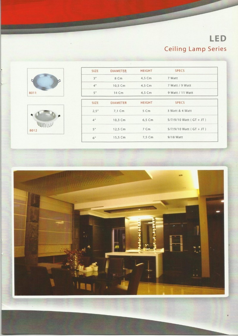 GENLITE LED-Ceilling Lamp Series