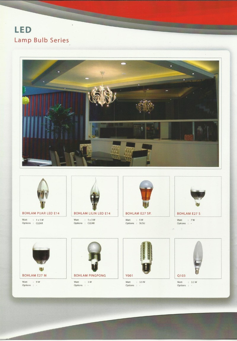 GENLITE LED-Lamp Bulb Series
