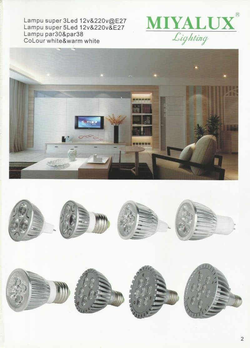 MIYALUX LIGHTING Lampu Super LED & Lampu PAR