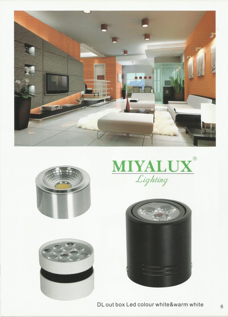 MIYALUX LIGHTING DL Outbox LED