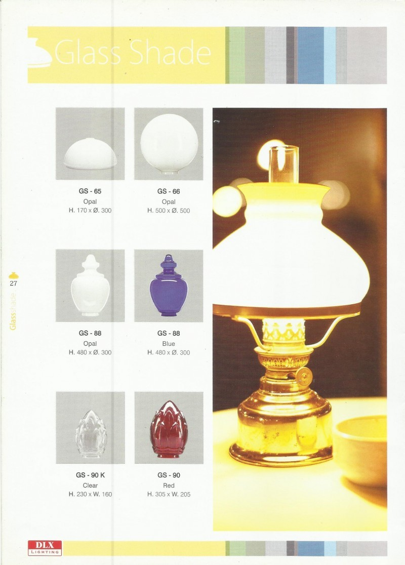 DLX LIGHTING Glass Shade