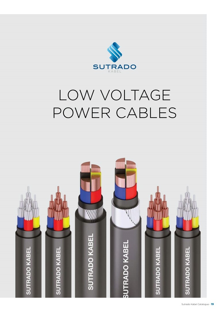 KABEL, SUTRADO, Low Voltage Power Cables