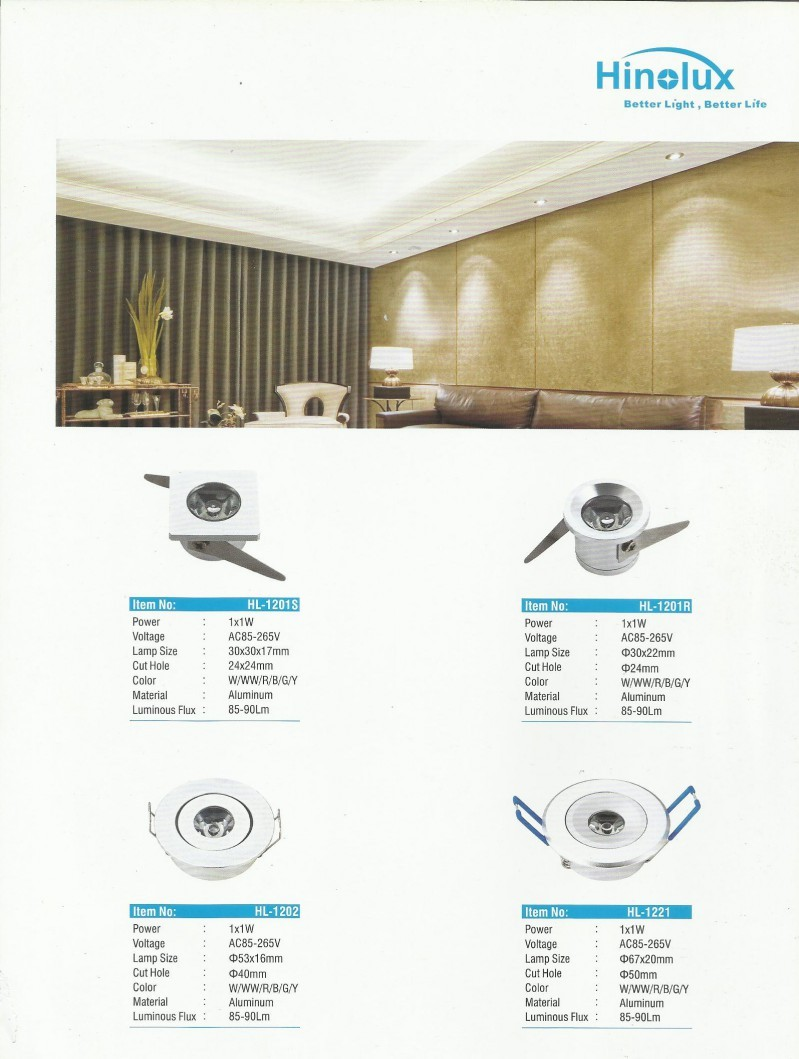 ARMATURE LAMPU, HINOLUX SERIES, LED Ceiling Light Series
